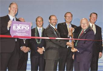 APTA Expo ribbon cutting