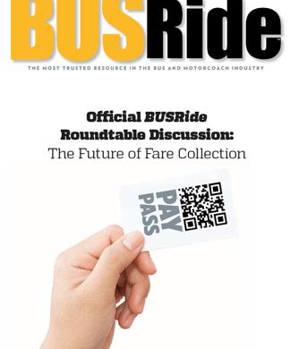 "BUSRide Cover the ""Future of Fare Collection"