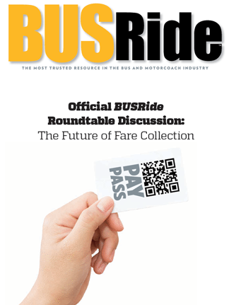 "BUSRide Cover the ""Future of Fare Collection"