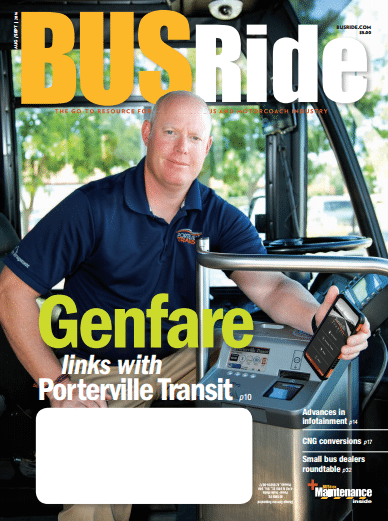 BUSRide cover featuring Genfare