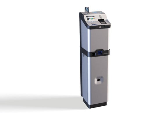 Genfare's Fast Fare farebox full product right view