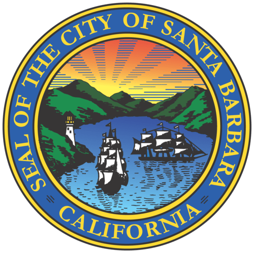 City of Santa Barbara seal logo transparent background