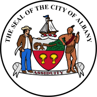 Seal of City of Albany logo