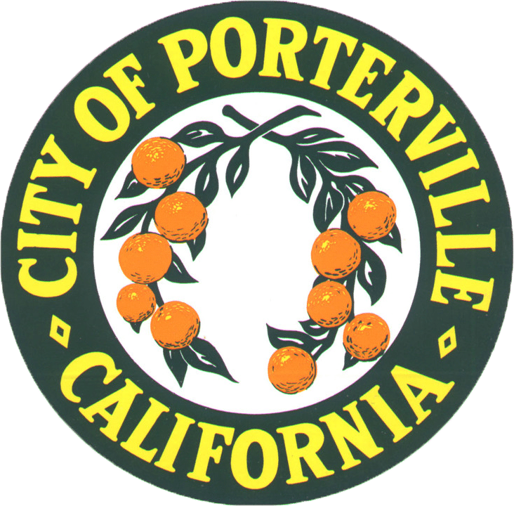 City of Portville, California seal transparent background