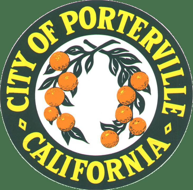 City of Portville, California seal transparent background