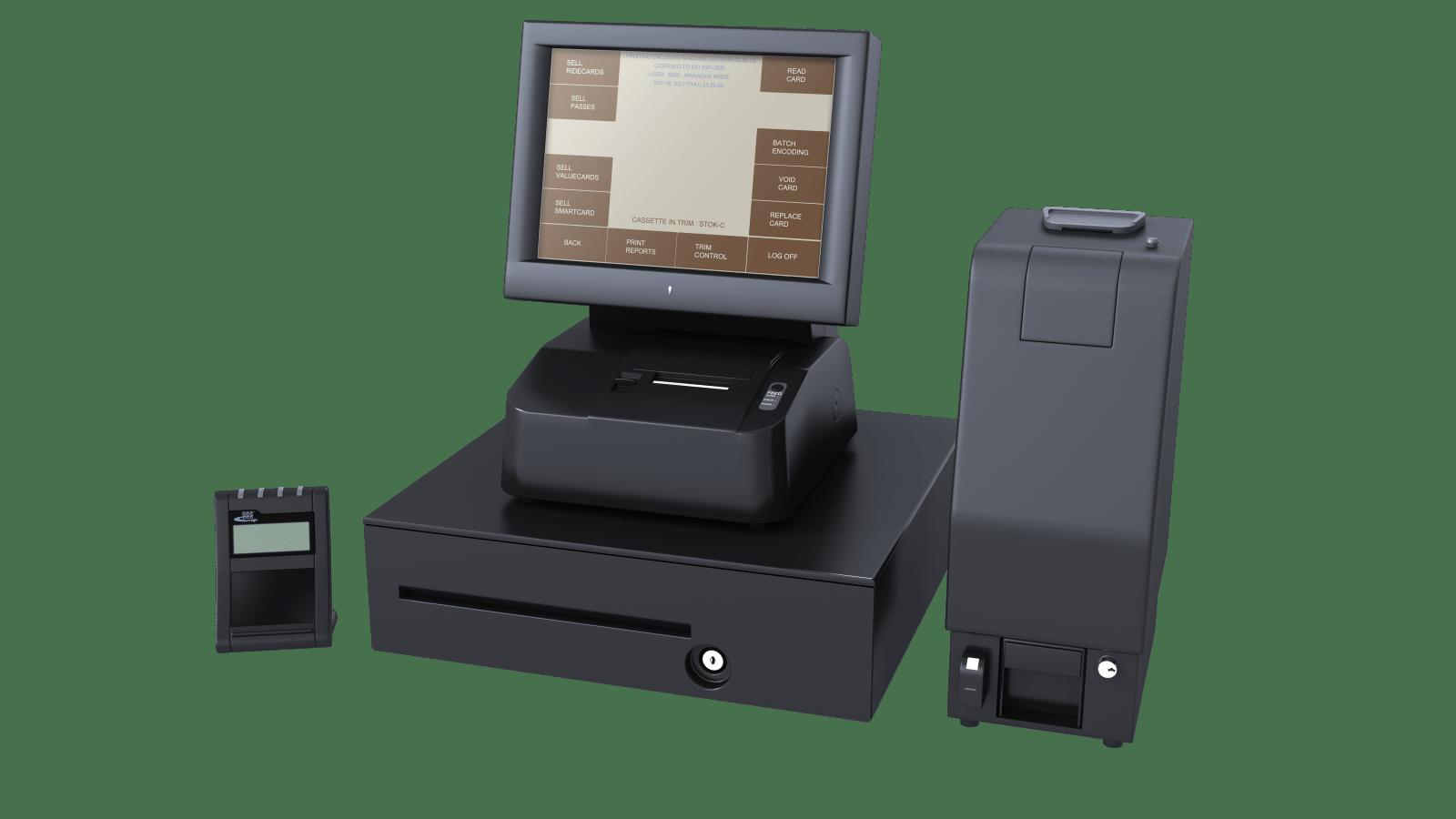 Genfare's PEM (Printer/Encoder Machine) farebox